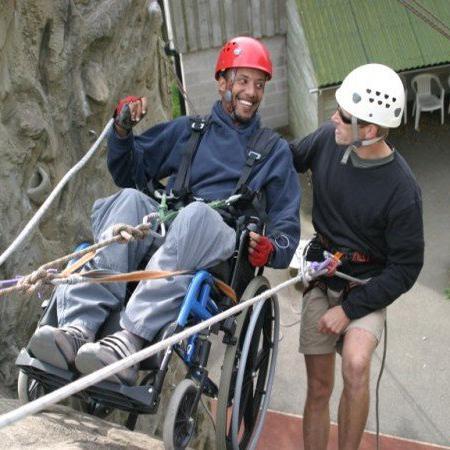 wheelchair-abseil