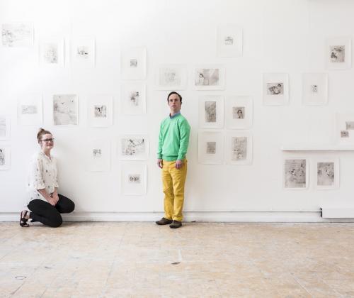Colloquium 'Arnaud is een kunstenaar met het downsyndroom,Lara een kunstenaar met een knieprobleem'