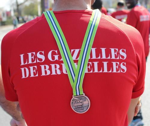 Solidariteitsactie 'Brussel Helpt' voor Les Gazelles de Bruxelles