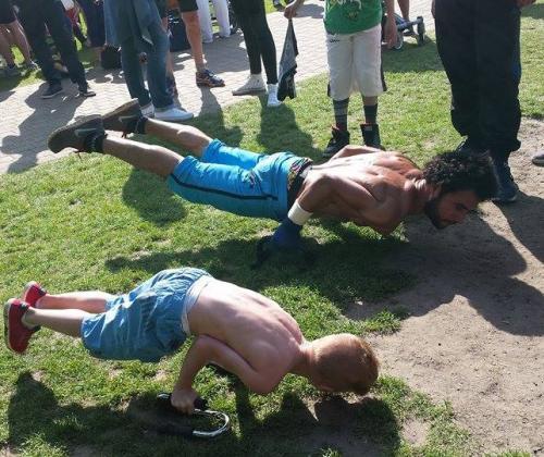 9000 barz - street workouters met ambitie