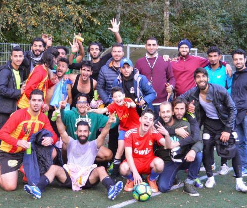 projectoproep: sport, integratie en sociale inclusie van vluchtelingen
