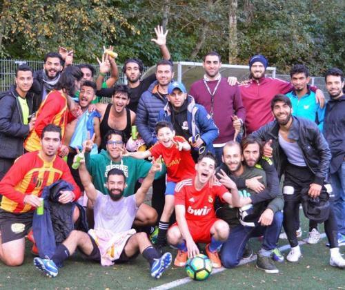 Voetbal, positieve beeldvorming en vluchtelingen