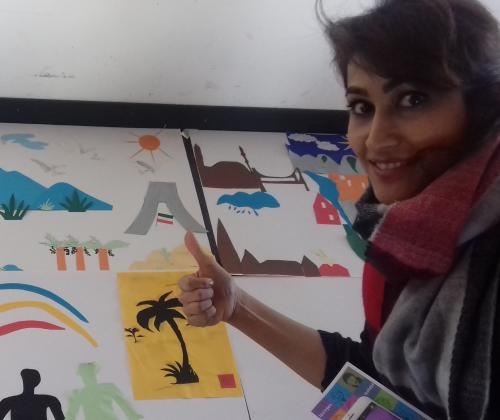 Kunsteducatief Kruisbestuif, een participatieproject van Wisper