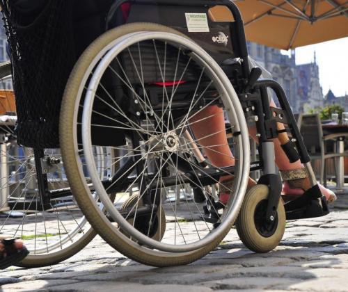 Gent on wheels. Toeristische wandelkaart voor rolstoelgebruikers.