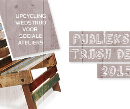 TRASH deluxe. Oproep sociale ateliers rond creatieve recyclage.