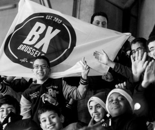 BX Brussels helpt dak- en thuislozen via voetbal