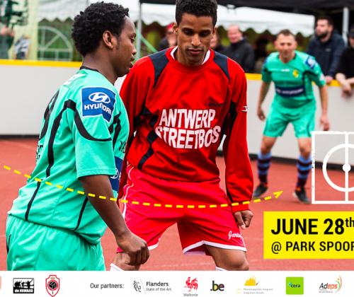Belgian Homeless Cup: Footfestival op 28 en 29 juni