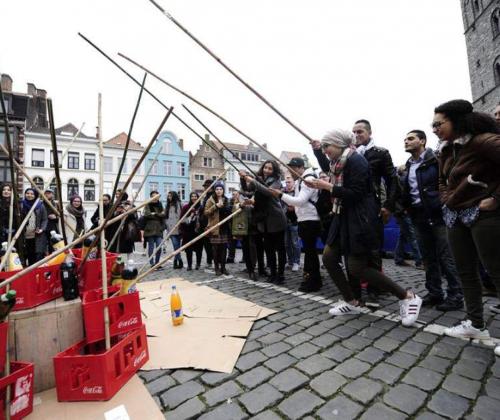 Jamila Channouf uit Gent over verbindende cultuurpraktijken