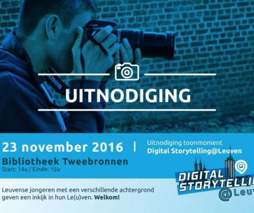 Digital Storytelling@Leuven van Link in de kabel. Een participatieproject.