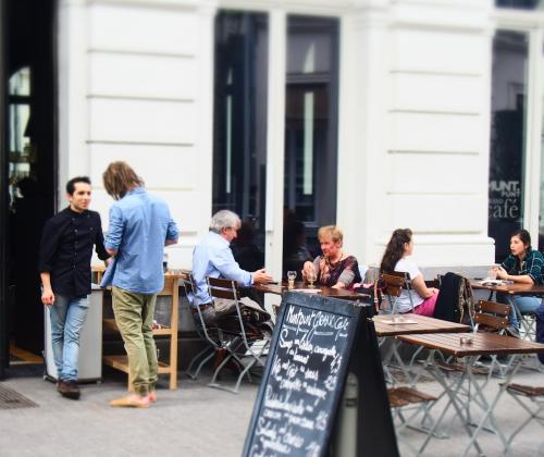 P-Kaffee Demos participatieprojecten kansengroepen
