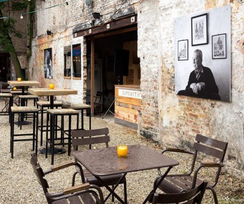 P-kaffee in Brugge. Preus op participatie.