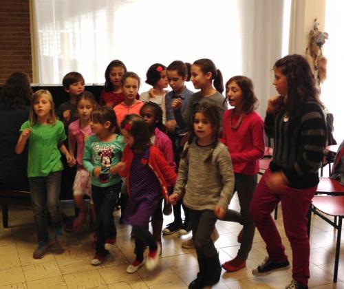 Kleurrijk kinderkoor - participatieproject van Culltuurcentrum Sint-Niklaas