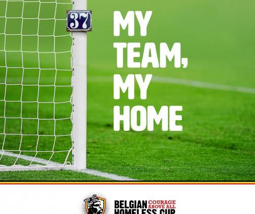Belgian Homeless Cup lanceert nationale campagne rond dak- en thuisloosheid