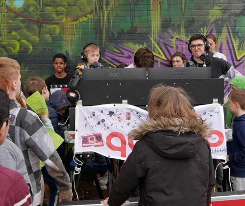 Medialab Quindo: straffe radio voor Jong Kortrijk