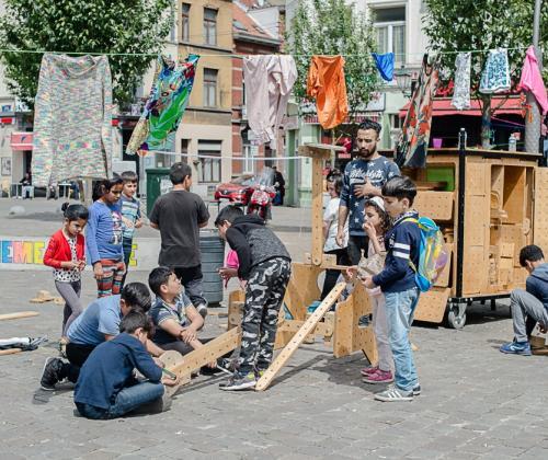 Playbox Cultureghem lokt jeugdbewegingen naar de wijken