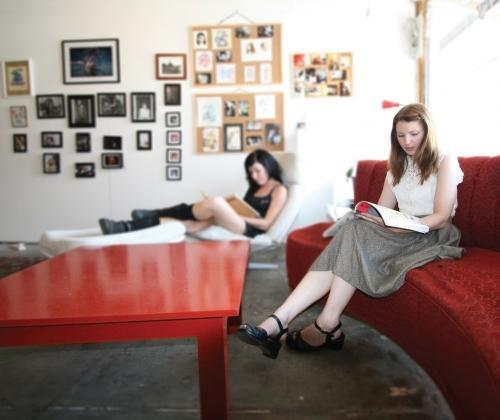 reading room 'tussen ruimte, kunst en kapers'