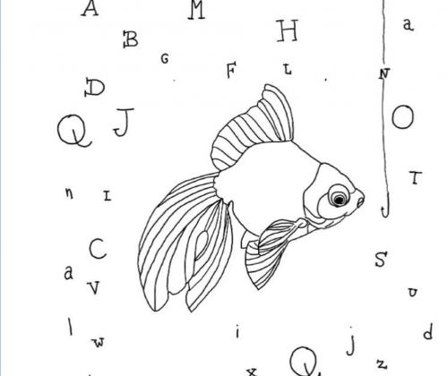 De lettervissers. Voordrachtwedstrijd voor mensen met een handicap