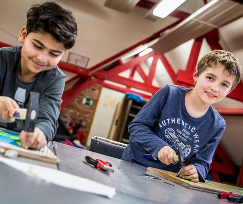 Bruggenbouwproject - Turnhout - In de sjakos
