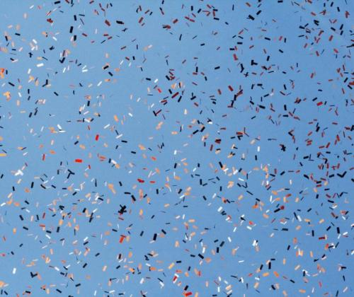 Sherrie Thai - Confetti Against a Blue Sky - CC BY 2.0