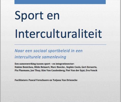 Sport en Interculturaliteit. Naar een sociaal sportbeleid in een interculturele samenleving