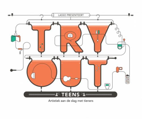 Artistiek aan de slag met tieners - inspiratiedag Lasso