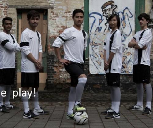 Voetbalploeg met niet-begeleide minderjarige vluchtelingen in Brusselse competitie