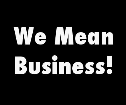 We mean business! – Verenigingen doen zaken