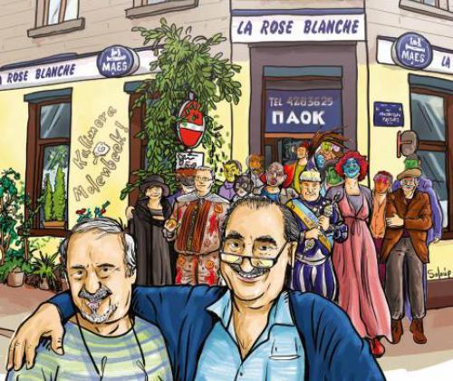 Documentaire La Rose Blanche over het laatste Griekse volkscafé in Molenbeek